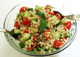 Cooking Weekends: Pearl Couscous Salad
