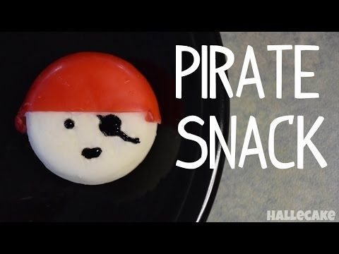 How To Make a Pirate Snack With Babybel Cheese. I can't wait for talk like a pirate day!
