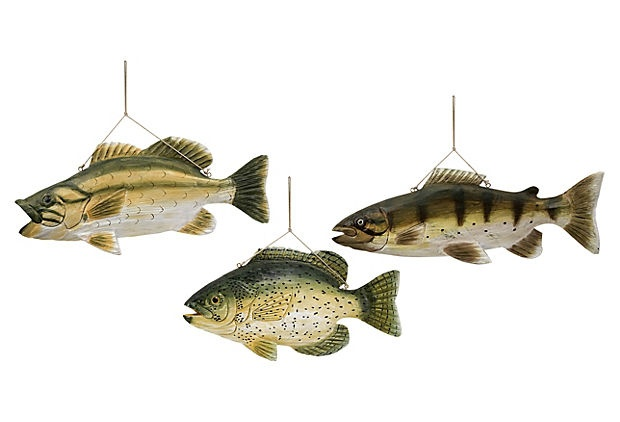 S 3 lakeshore wall mount fish wall mount products and fish for Fish wall mount