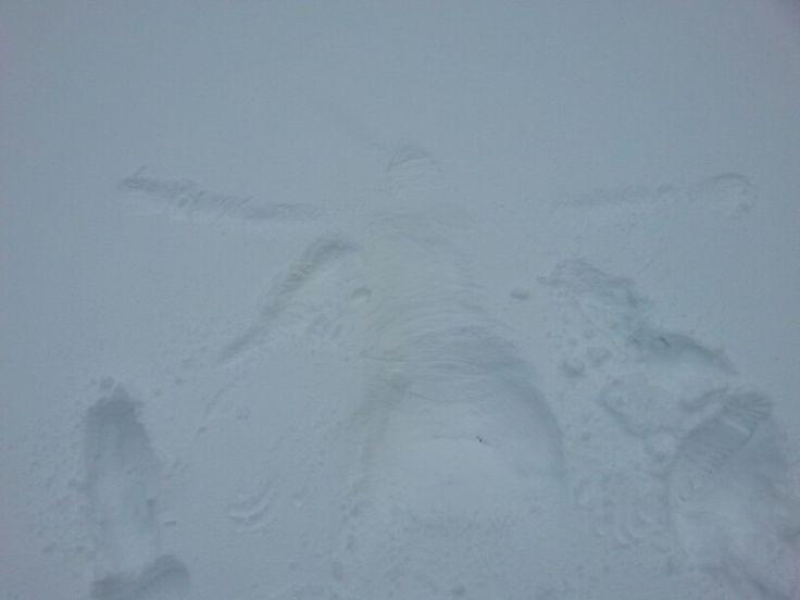 Traccia sulla neve