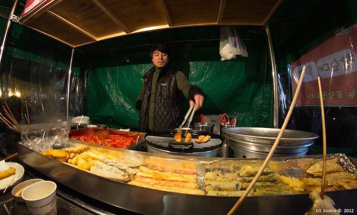 South Korean Foods: Fried Snacks