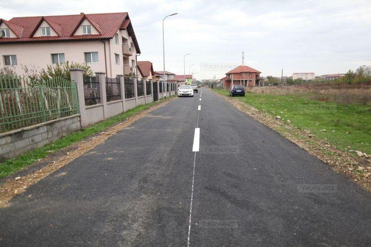 Cinci strazi de pamant, asfaltate la periferia Timisoarei