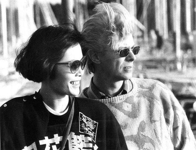 berlin-1976:  David Bowie andGeeling Ng in Gothenburg, Sweden, 10 June 1983 © Urban Anderssonaftonbladet.se/