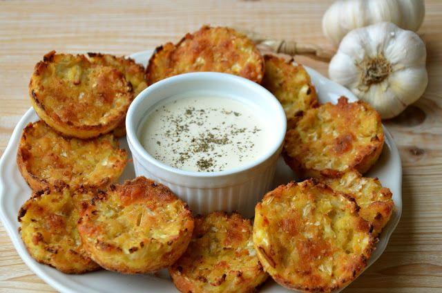 crustycorner: Bezlepkové květákové placičky s mozzarellou a česn...