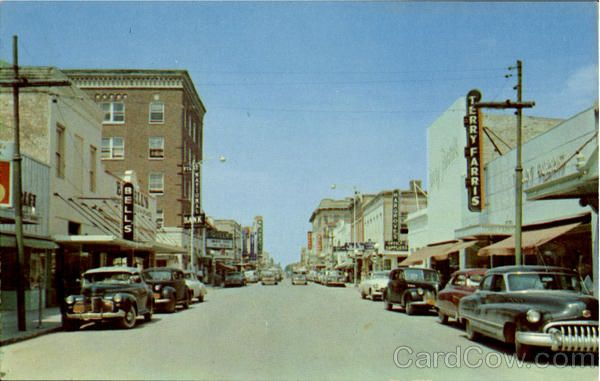 brownsville texas at down town | Elizabeth Street, Brownsville's downtown business area Texas