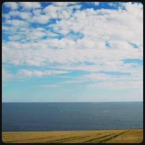 まずまず晴れてたのでパブへ青空に映えるカラフルな壁の色Franciscan well フランシスカンウェル…アイルランド コークこれは3種類あるうちの r...