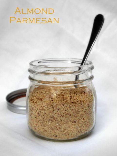 THE SIMPLE VEGANISTA: A sprinkling we go! Almond Parmesan