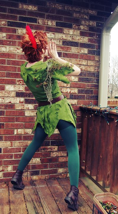 Calling by Piperonni.deviantart.com on @deviantART - Peter Pan cosplay Halloween