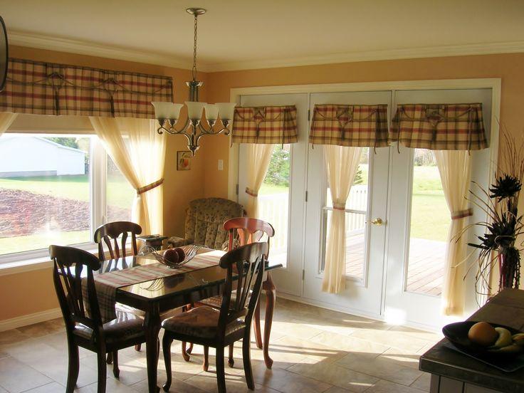 42 best deco habillages de fen tres images on pinterest valance curtains window dressings - Habillage fenetre cuisine ...