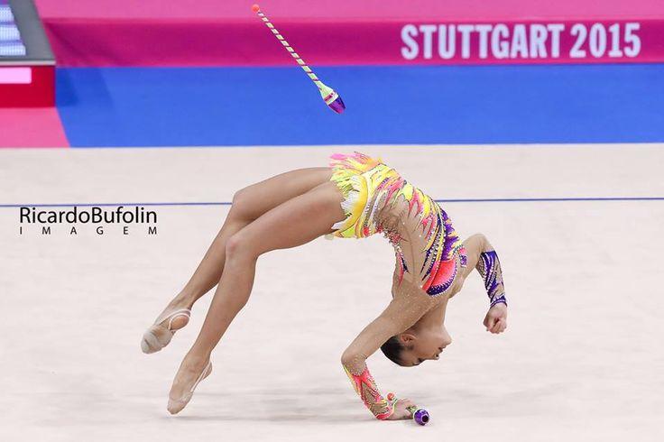 Jana Berezko-Marggrander (Germany),  Rhythmic Gymnastics World Championships (Stuttgart, Germany) 2015