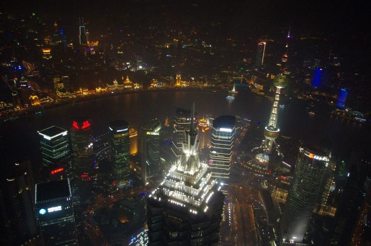 From Shanghai World Financial Center