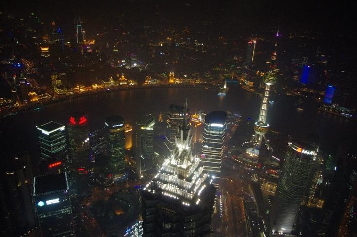 From Shanghai World Financial Center