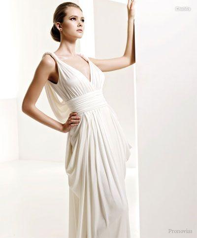 [Código: VES0048] Vestido de corte griego