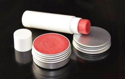 Cosmética Natural Casera Blog: Receta de Bálsamo de labios con frambuesa en polvo