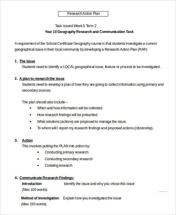 Action Plan Templates | 25+ Free Printable Word, Excel & PDF