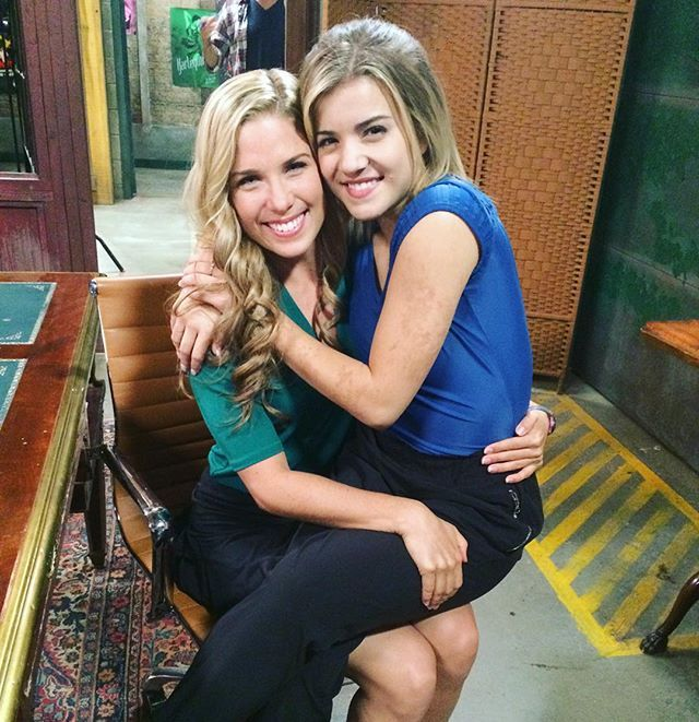 Keeping up with traditions #season4 #thenextstep. BREE WASYLENKO & BRITANNY RAYMON. Sal Peyton