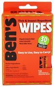 Look what I just bought on eBay: Ben's - Tick & Insect Repellent Wipes - 12 Wipe(s)