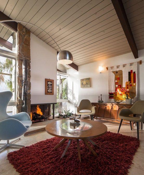 79 Stylish Mid-Century Living Room Design Ideas   DigsDigs