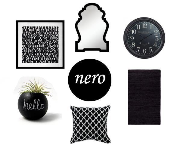 Un tocco di nero per donare un po' di carattere ai vostri ambienti. Ci avete mai pensato? Vi piace l'idea?