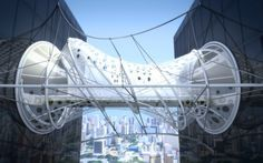 Winner of the Building to Building Pedestrian Bridge Challenge / sanzpont [arquitectura]