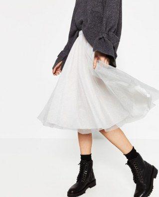 Tüllrock von Zara, 25,95 €