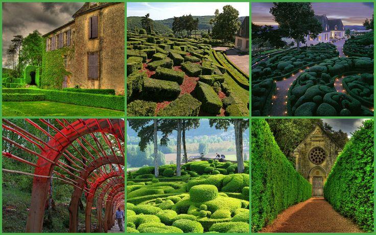Los asombrosos jardines de Marqueyssac en Francia