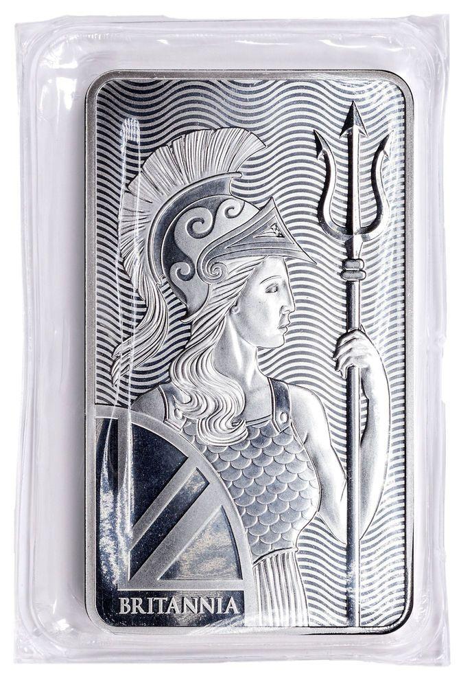 2019 Royal Mint Britannia 10 Troy Oz 999 Fine Silver Bar Sku55100 Silver Silverbar Silver Investing Silver Bars Fine Silver