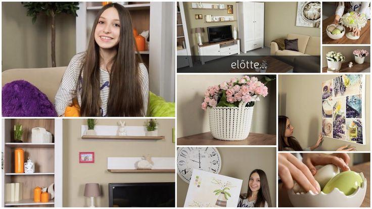 Decolady: Húsvéti hangulatú szobadekorációt készített Emci, nézzétek meg!