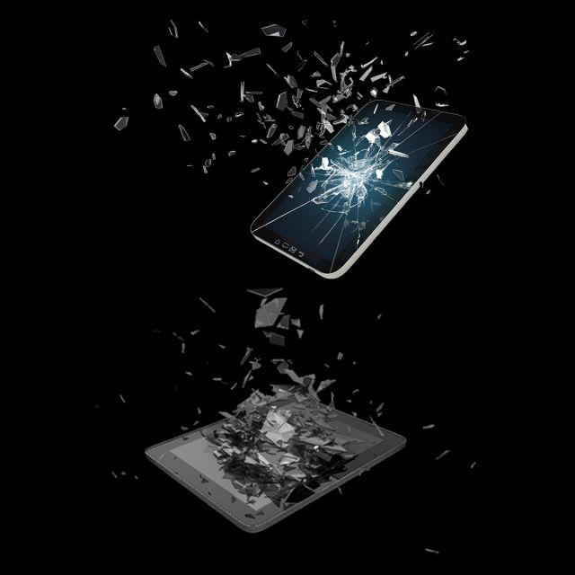 Broken Mobile Phone Screen Mobile Phone Case Diy Mobile Phone Design Mobile Phone