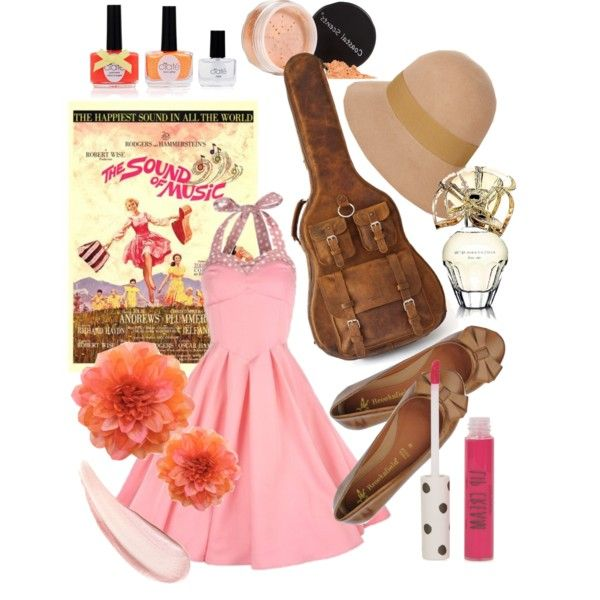 The Sound Of Music by the-retro-radio on Polyvore