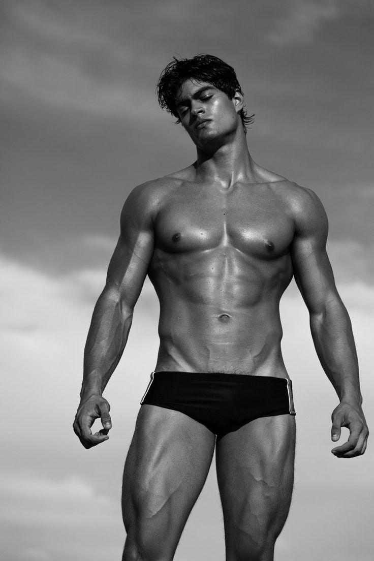 Shower naked male-3898