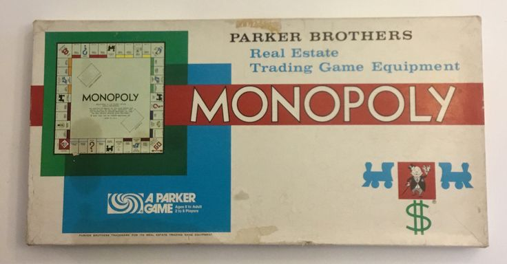 Vintage Monopoly The Real Estate Trading Game Equipment By Parker Brothers 1961 by ReclaimYouth on Etsy https://www.etsy.com/listing/543150158/vintage-monopoly-the-real-estate-trading