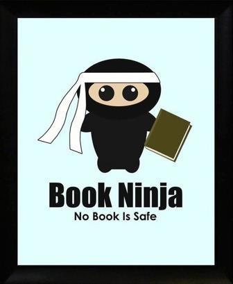 Book Ninja. No book is safe.
