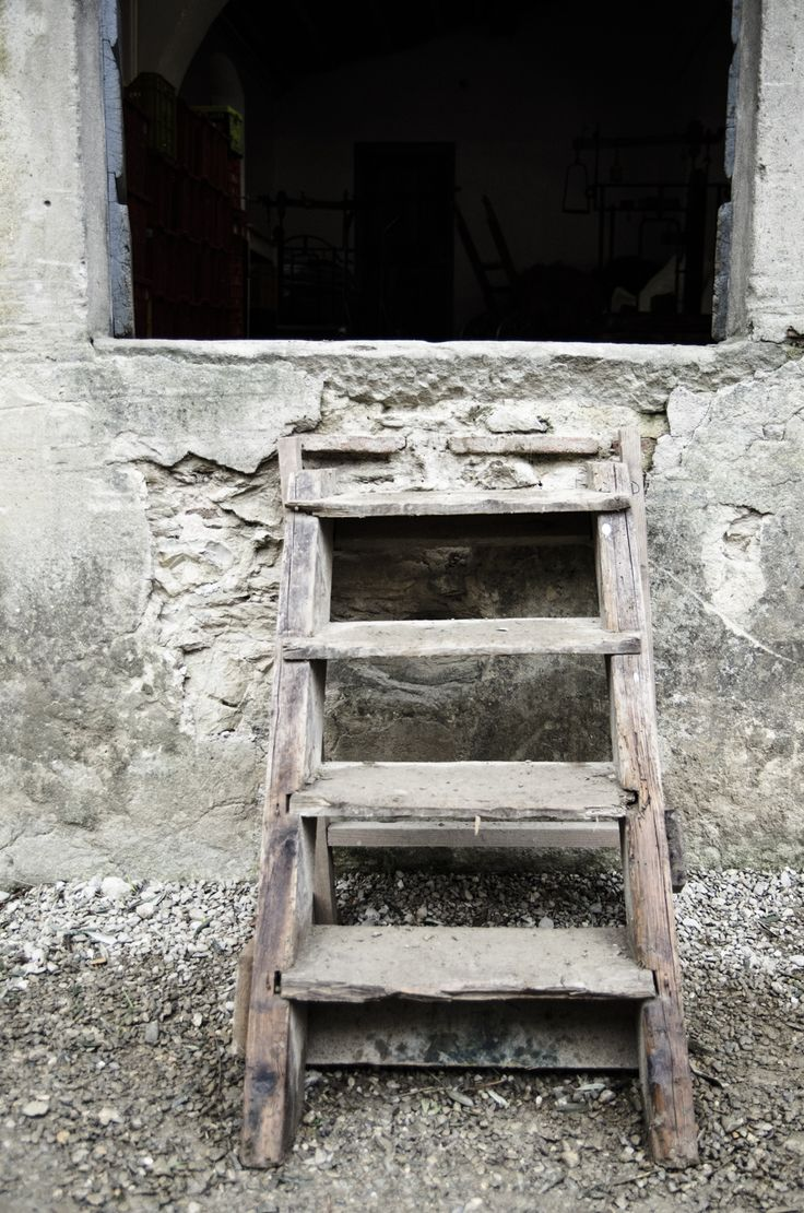 Exploring the old oil mill #Laudemio #Tuscany #Toscana #EVOO #oliveoil #mill #stairs #wood