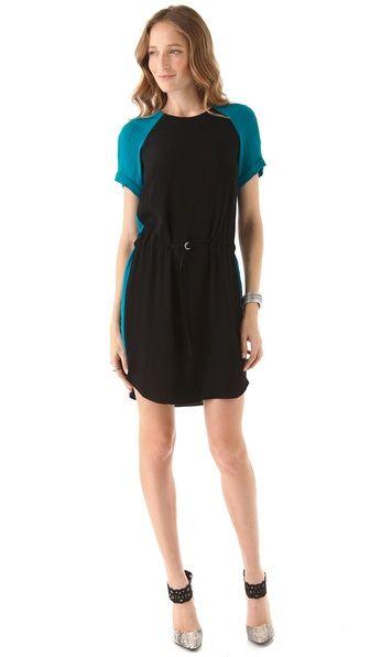 Bought & love!    Rebecca Taylor Colorblock Dress