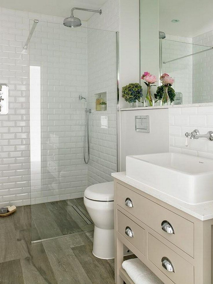 99 Small Master Bathroom Makeover Ideas On A Budget (56)