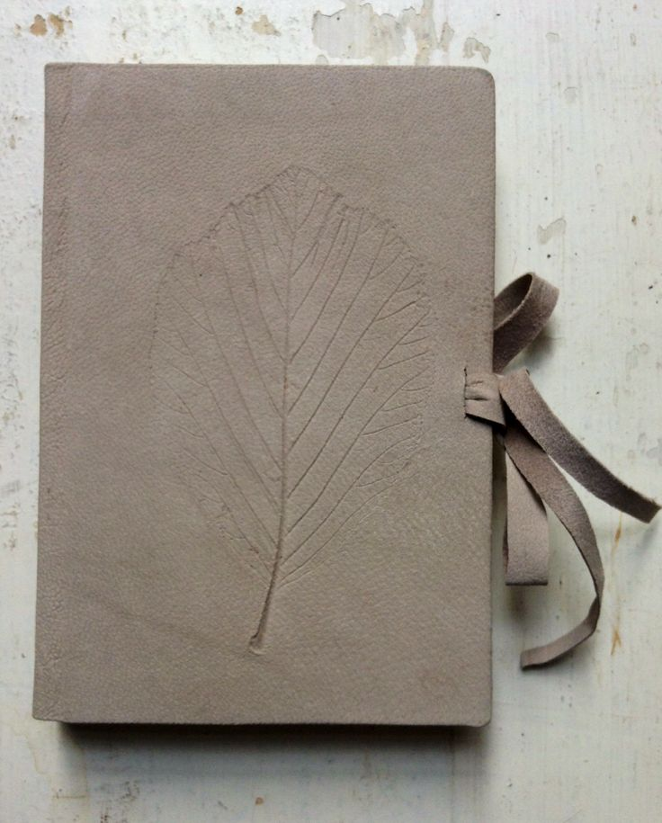Small leather bookbinding