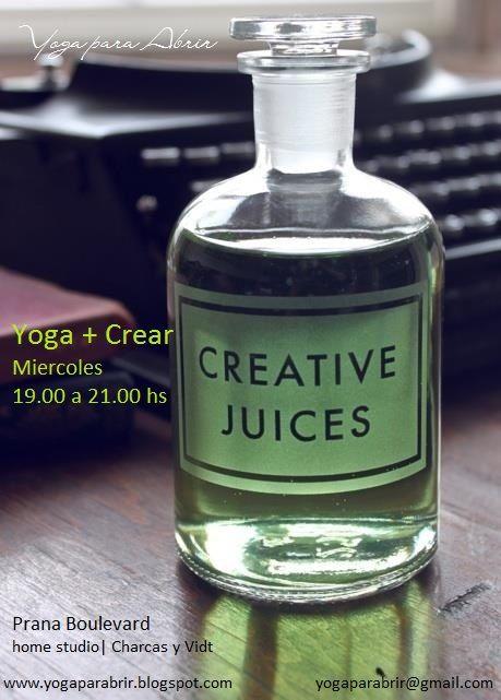 Yoga + Crear #Yoga #Creativity Prana Boulevard www.yogaparabrir.blogspot.com