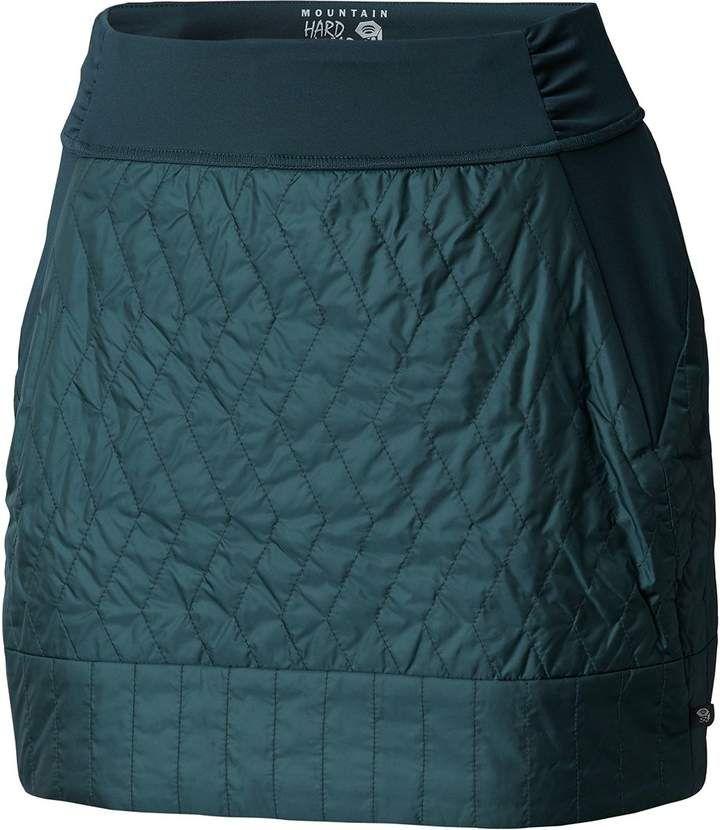 Mountain Hardwear Womens Trekkin Insulated Mini Skirt