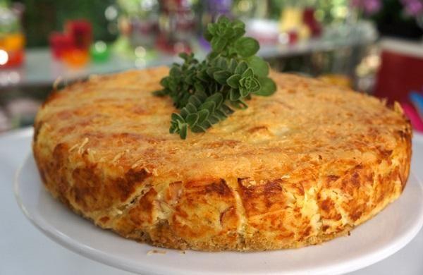 Αλμυρό τσηζκέικ πατάτας με σαλάμι από τον Βαγγέλη Δρίσκα | Enter-TV