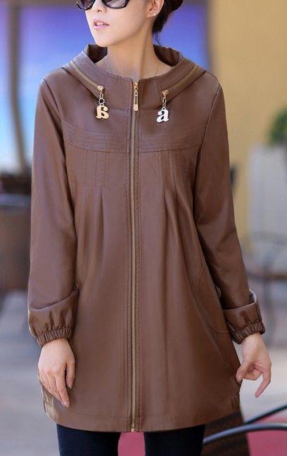 Caliente- la venta para mujer chaqueta de cuero de las seoras 2013 plus size xl- xxxxl- 6xl de cuero ropa de mujer y otoo wither escudo chaqueta de mujer