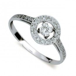ZP1990D Zásnubní prsten s diamanty