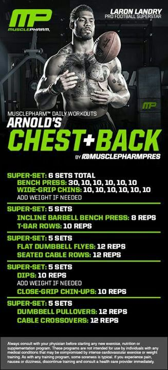 Chest and Back Workout | Posted by: NewHowtoLoseBellyFat.com
