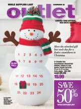 Avon Brochure - Outlet brochure. Due date Oct 22, 2013