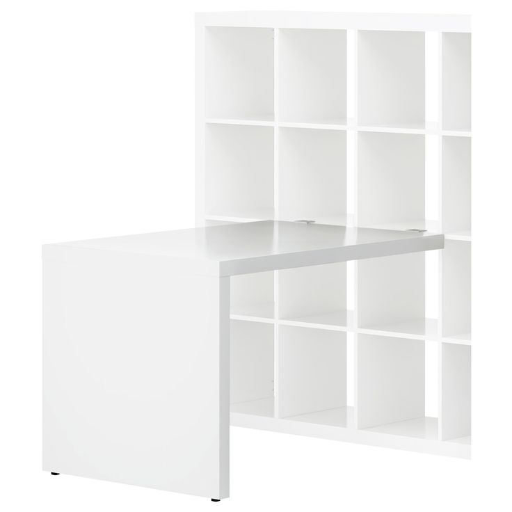 desk attached to storage ikea dream home