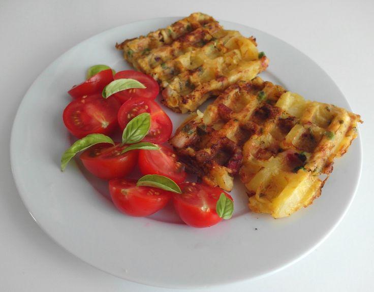 Aneta Goes Yummi: Slané waffle inšpirované španielskou tortillou ako skvelý tip…