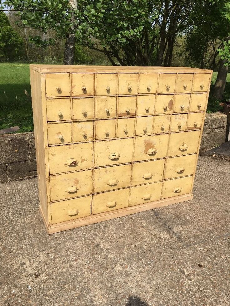 Antique Bank apothecary bank of drawers Antique Shop Counter Chest Of Drawers | eBay