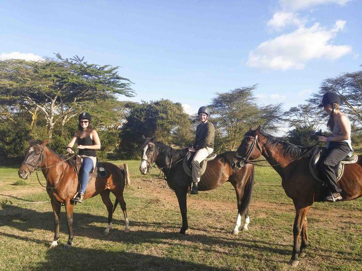 Horse-back safaris at Solio! #Africa #kenya #travel #Horse #Safari