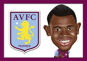 Leandro Bacuna drawn by Richie Cordier