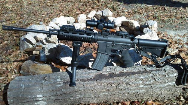 Bushmaster Carbon 15 M4 Carbine | Types of Guns That Will Keep You Alive On Doomsday | https://guncarrier.com/types-of-guns-doomsday/